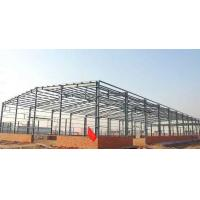 Quality Lightweight Steel Frame Building / Fabrication Steel Structure Warehouse for sale
