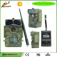 Buy New Design 3G 12MP MMS 1080p Night Vision Action Wireless Scouting Trail Outdoor Hunting Camera With SMS Remote Control at wholesale prices