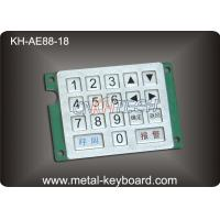Buy cheap Customized Keyboard Numeric Keypad with Rugged Stainless Steel Material product