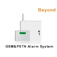 Quality LCD GSM PSTN Metal Case Commercial Alarm System with 8 Wired zones 31 Wireless zones for sale