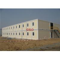 China Waterproof Prefab Portable Accommodation Buildings 2 Storey Lightweight on sale