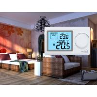 Quality White Color Shell Digital Non Programmable Heating Room Thermostat for HVAC System for sale