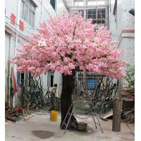 China artificial cherry blossom tree artificial flower plant fake tree on sale