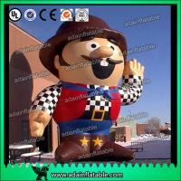 Quality Promotion Inflatable Cartoon Custom Inflatable Hackbuteer Cowboy for sale