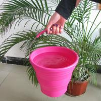 Quality OEM / ODM Silicone Rubber Products , picnic household silicone bucket for sale