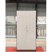 Buy cheap Steel Two Doors Office Filing Cabinet Furniture Knocked Down Structure 400D from wholesalers