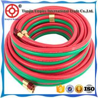 Quality OXYGEN AND ACETYLENE HOSE TWIN WELDING HIGH PRESSURE RUBBER 5/16'' HEAT RESISTANT for sale