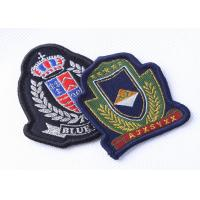 China Custom Embroidered Military Patches Beret Cap Badge , Cool Military Hat Patches on sale