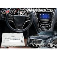 Quality Android 6.0 Auto Interface for Cadillac CTS / Escalade with CUE System 2014-2018 Mirrorlink WIFI GPS Navigation for sale