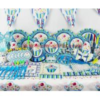 China New Arrival Kids Birthday Party Decaction Sweet Ice Cream Theme Party Decoration Favors on sale