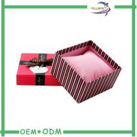 Buy cheap Fancy Matte Red Cardboard Match Packaging Box With Screen Printing from wholesalers