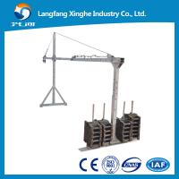 Quality ZLP  Steel working platform/ suspended platform/ Gondola for sale