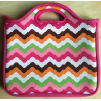 Quality 10'' Notebook SBR Neoprene Laptop Tote For Women With Silk Screen Printing for sale