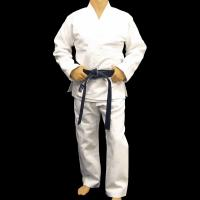 Quality Customized bamboo fabric Judo Uniform Martial Arts Clothes , White for sale