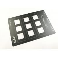 Quality Waterproof Transparent Window Polyester Graphics And Overlays For Control Panel for sale