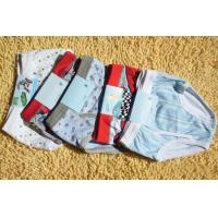 Buy cheap Three-dimensional Cutting Organic Kids Underwear For Boys With Convenient Transportation product