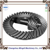 Quality Customized 2M - 20M Differential Bevel  Spiral Gear Tansmission Parts For Truck Tractor for sale