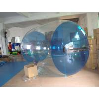 Quality Blue Transparent Inflatable Water Roller Balls for Kids Inflatable Pool for sale