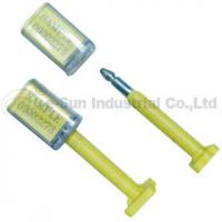 Plastic Bolt Container Security Seals For Truck , High Security Bolt Seal