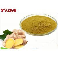 Quality Pharmaceutical Yellow Dry Ginger Powder Help Stimulate Blood Circulation for sale