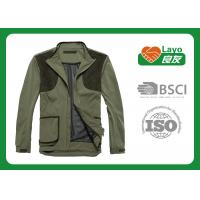 Quality Olive Color Hunting Fleece Clothing For Hunting Hiking Camping for sale