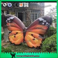 Quality Custom Orange  Inflatable Butterfly Model For Commerce Promotional for sale