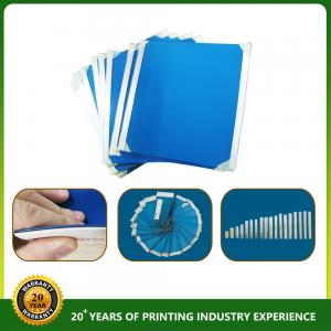 China YY355 rubber blanket 1.95mm thickness blue color on sale