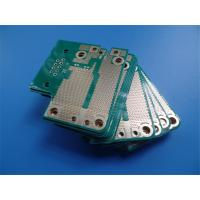 Quality 4 Layer Hybrid PCB on RO4003C and  FR-4 With Immersion Gold and green soldermask for sale