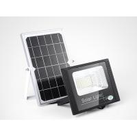 Quality Outdoor IP67 Waterproof Aluminum Solar Led Flood Lights 25w LiFePO4 Battery for sale