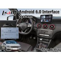 Quality W176 Android 6.0 Auto Interface for 2015-2019 Year Mercedes-Benz a-Class Waze Youtube for sale
