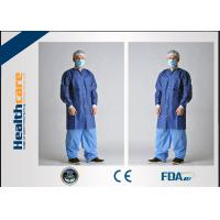 Quality Breathable Disposable Protective Gowns For Hospital / Chemical / Beauty Industry for sale