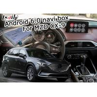 Quality Android 6.0 navigation video interface box for Mazda CX-9 12V DC power supply for sale