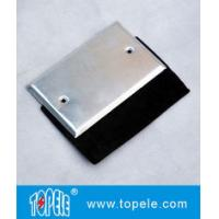Quality Flat One Gang Aluminum Stamped Cover , Weatherproof Electrical Outlet Boxes for sale