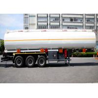 Buy cheap Liquefied Gas Semi-trailer / Gas Tanker Truck Capacity 36000L / 3 Axles/  Gas / Diesel from wholesalers