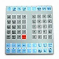 Buy Membrane Keyboard with Operating Temperature of -35 to 70 Degrees Celsius at wholesale prices
