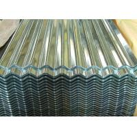 Buy Zinc Coated Corrugated Steel Roofing Sheets Metal Roof Panel 0.15 - 1.2mm Thick at wholesale prices