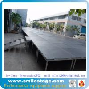 China Non-slip Platform Aluminum Height Adjustable Stages on sale