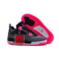 China Air Jordan 4 retro women Black/Pink on sale