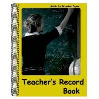Quality Teachers Record Book for sale