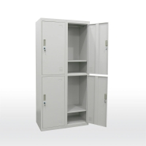 Quality School Furniture 185cm height  0.16 CBM Metal Wardrobe Cabinet for sale