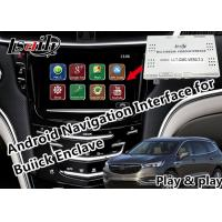 Quality GPS Android Auto Interface for 2014-2018 Enclave Envision Encore Regal support CarPlay Miracast yandex Youtube for sale