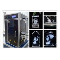Quality Diode Pumped 3D Laser Glass Engraving Machine , Computerized 3D Laser Carving Machine for sale