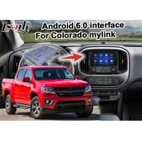Quality Durable GPS Navigation Box Video Interface / Chevrolet Colorado Mirror Link Navigation for sale