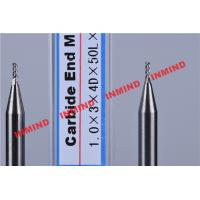 Buy cheap Carbide / Aluminum End Mill with HRC50 Hardness 45 Degree Helix Angle from wholesalers