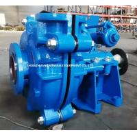 Quality White Iron Metal Lined A05 Bare Shaft Slurry Pump SH100D Interchangeable with 6 / 4 D AH for sale