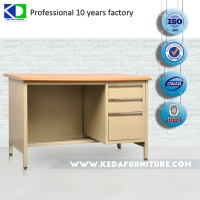 Quality Knock Down Home Steel Computer Office Table Desk for sale