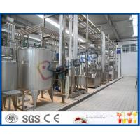 Buy cheap 10000LPD UHT Milk Processing Line for Long Shelf Life Milk / Pure Milk ISO9001 product