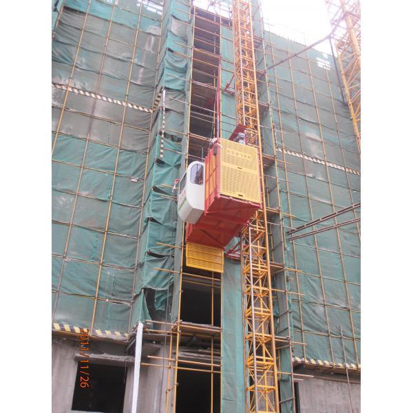 Vertical handling Construction Lifting Equipment / Builder Hoist ...