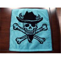 China Cotton yarn-dyed jacquard advertising towel, sports towel on sale