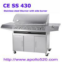 Quality 6-burner SS BBQ for sale